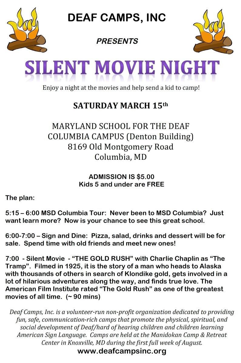 Movie Night flyer 2014