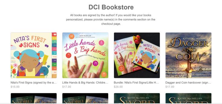 DCI Bookstore