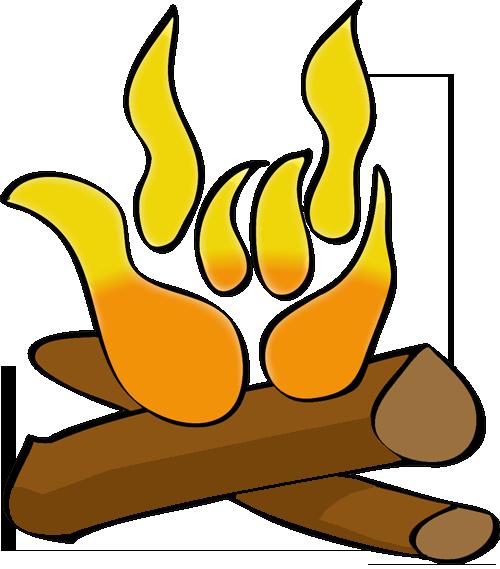 DCI campfire/ILY logo