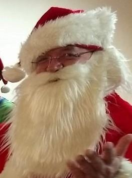 Caucasian Santa